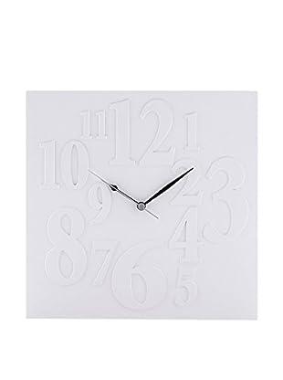 Contemporary Living Reloj De Pared Mix Blanco