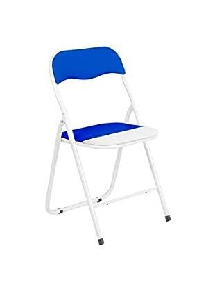 Stuhl 6er Set Maya blau