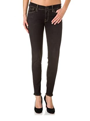 7 for all Mankind Gwenevere Vintage Gummy Super Skinny Fit (Dunkelblau)