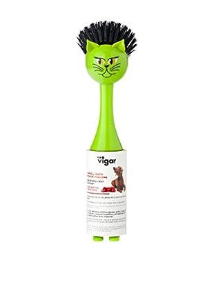 VIGAR Cepillo 2 Piezas Vincents Pets G Verde