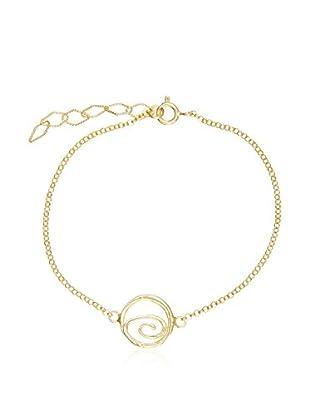 My Silver Pulsera Espiral Oro