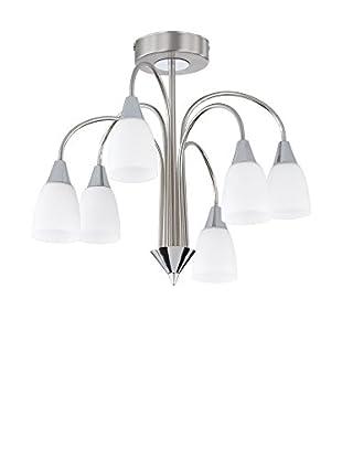 WOFI Lámpara De Techo LED Casa cromo