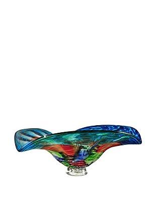 Dale Tiffany Newport Bowl, Blue Multi