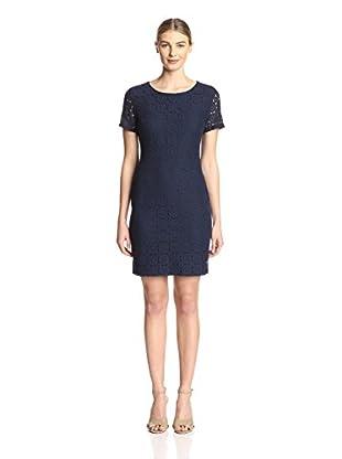 Sharagano Women's Lace Shift Dress