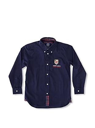 Valecuatro Camisa Junior Firma (Azul Marino)
