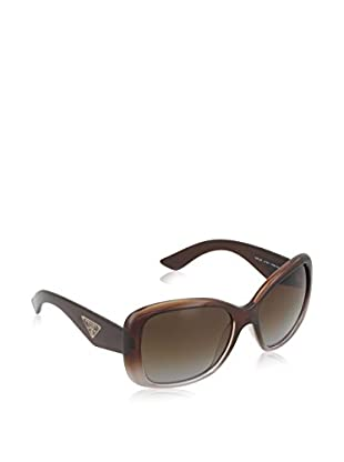 PRADA Gafas de Sol Polarized 32PS PDM6E1 (57 mm) Marrón