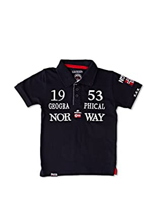Geographical Norway Polo Kani Ss Boy 402 (Marino)