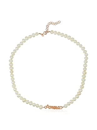Silver Luxe Collar  plata de ley 925 milésimas bañada en oro