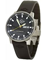 Gv2 By Gevril Black Dial Stainless Steel Mens Watch 4002R