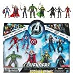 Marvel Exclusive Action Figure 8-Pack The Avengers Iron Man, Thor, Captain America, Hulk, Black Widow, Hawkeye, Nick Fury amp Loki