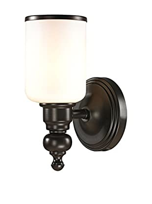 Artistic Lighting Bristol Collection 1-Light LED Sconce, Oil Rubbed Bronze