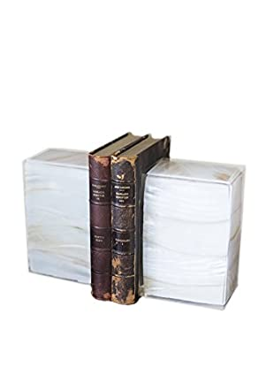 Couture Sanibel Bookends, Mother of Pearl/Clear