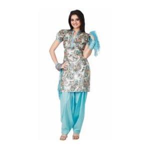 Shree Printed Suits KPS-390 | Shree | Turquise | L