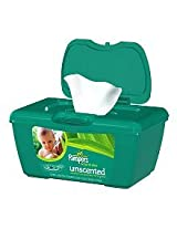 Pampers Soft Care Wipes Unscented Aloe (72 Sheets)