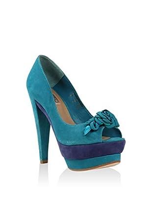 Cubanas Zapatos peep toe