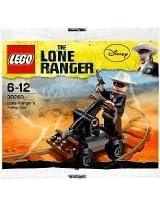Lego Lone Ranger Pump Car