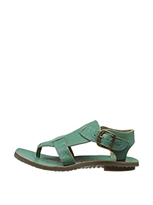 Fly London Sandalias Bany Thong (Verde)