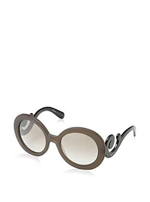 Prada Gafas de Sol 27NS UBU4O0 (55 mm) Marrón / Negro