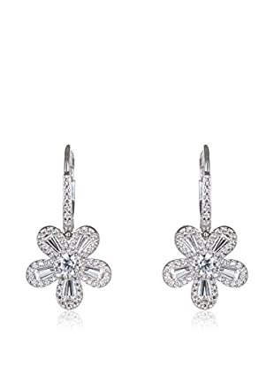 CZ BY KENNETH JAY LANE Ohrringe Baguette Flower