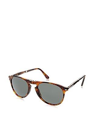 ZZ-Persol Gafas de Sol Polarized Mod.9714S 108/58 52 (52 mm) Café