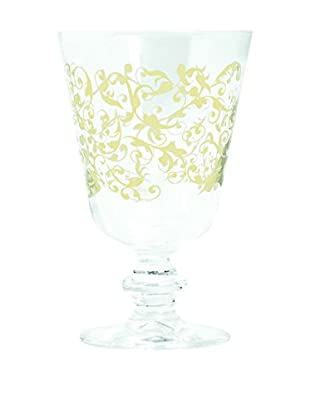 Brunch Time Rotweinglas 6er Set Domus transparent/creme