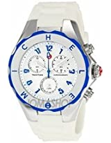 Michele Tahitian Jelly Bean Large White And Blue Ladies Watch Mww12F000023