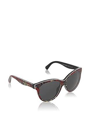 DOLCE & GABBANA Sonnenbrille 4176 rot/schwarz