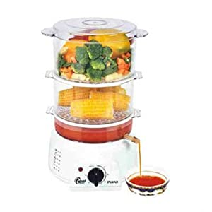 Frendz Multi Steam Cooker White