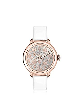 Glam Rock Women's GR77018 Bal Harbour White/Silver Genuine Leather Watch