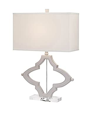 Liza Table Lamp, Grey