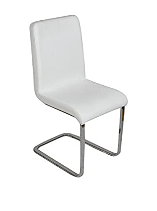 Evergreen House Set Silla 2 Uds. Blanco