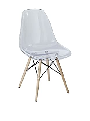 Modway Pyramid Dining Side Chair (Clear)