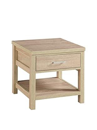Linon Home Décor Aspen End Table, Blonde