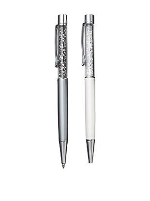 Swarovski Crystalline Lady Ballpoint Pen and Mechanical Pencil Set