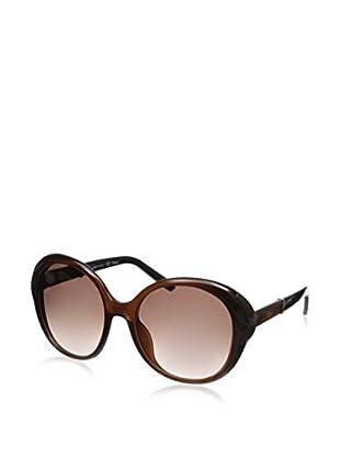 Chloe Women's Sunglasses, Brown/Amber