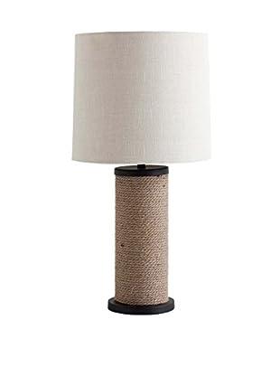 Mercana Jefee 1-Light Table Lamp, Light Brown