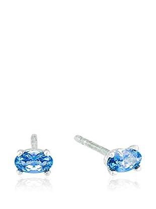 Cordoba Jewels Pendientes Oval Montana plata de ley 925 milésimas