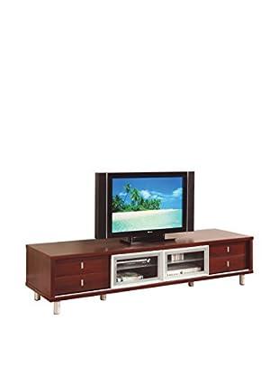 Luxury Home TV Cabinet, Mahogany