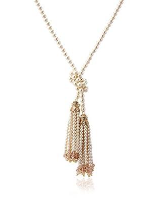 Chloe & Theodora Pearl Tassel Necklace