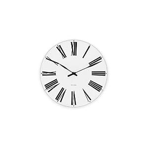 【クリックで詳細表示】ROSENDAHL(ローゼンダール) Arne Jacobsen Roman Wall Clock 29cm 43642 [正規輸入品]: ホーム&キッチン