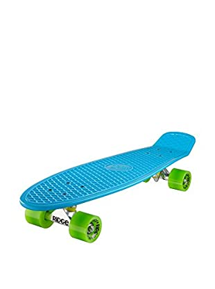 Ridge Skateboards Monopatín Big Brother Cruiser Azul / Verde