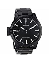 Nixon Chronicle Stainless Steel Black Mens Watch A198001