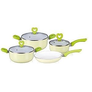 Wonderchef 4 Seasons Monsoon Induction Base Cookware Set  7-Pieces