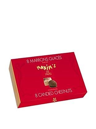 Maxim's de Paris Box of 8 Candied Chestnuts