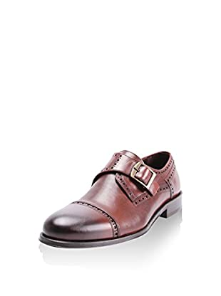 Reprise Zapatos Monkstrap Kahve
