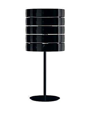 Caimi Tischlampe Ring schwarz
