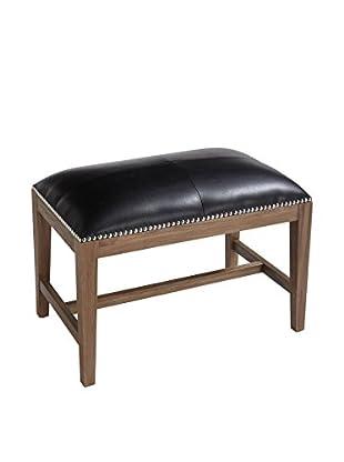 Sunpan Houston Bench Reclaimed Leg, Black