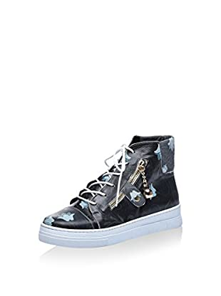 Los Ojo Hightop Sneaker Cellie