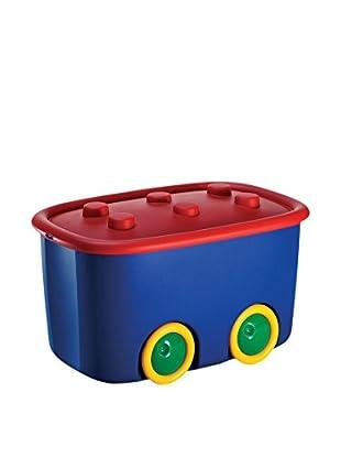 KIS Set Caja de Almacenamiento 6 Uds. Funny Box Alto L Multicolor