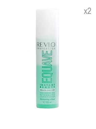 Revlon Set 2 Equave Ib Acondicionadores Volumen Cabello Débil Fino 200 ml
